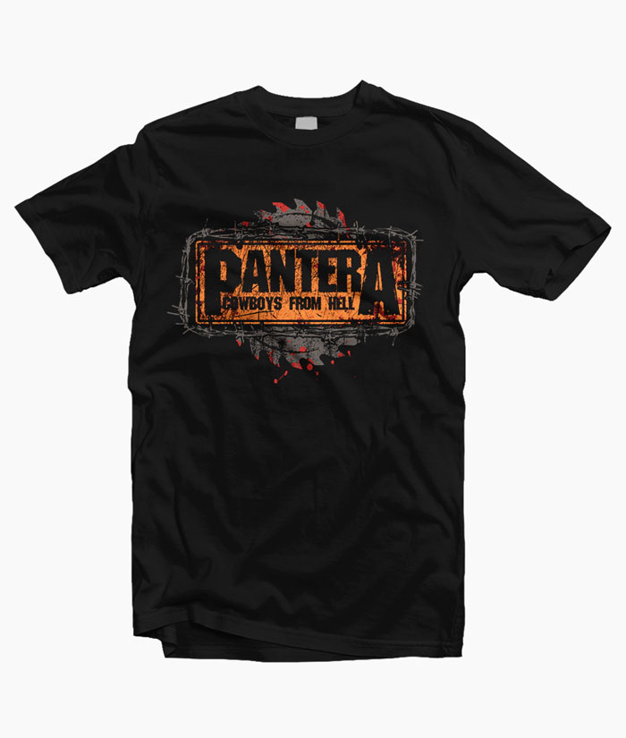 Pantera Cowboys From Hell T Shirt