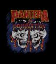 Pantera Domination Skulls T Shirt