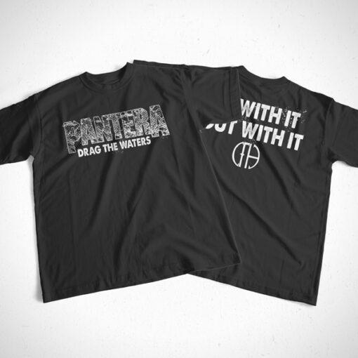 Pantera T Shirt Drag The Waters