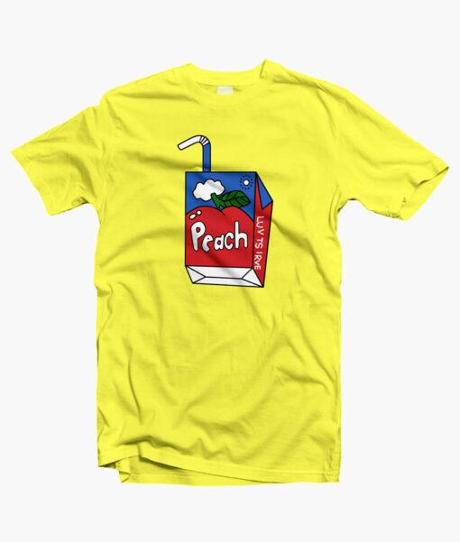 Peach T Shirt yellow