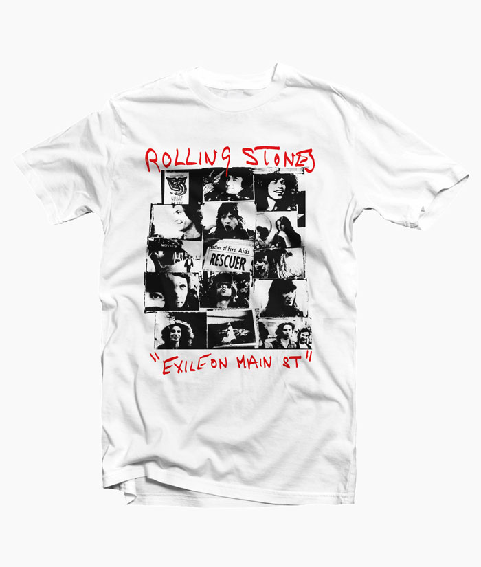 Rolling Stones Exile On Main Street Shirt