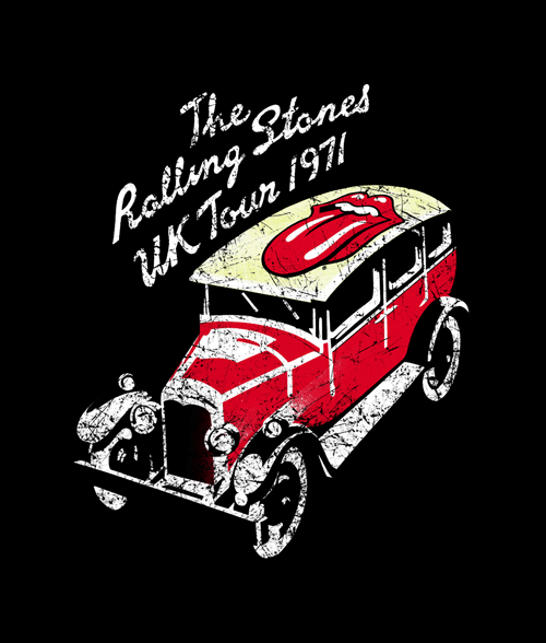 Rolling Stones Tour Shirts