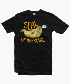 Seal Of Approval T Shirt black