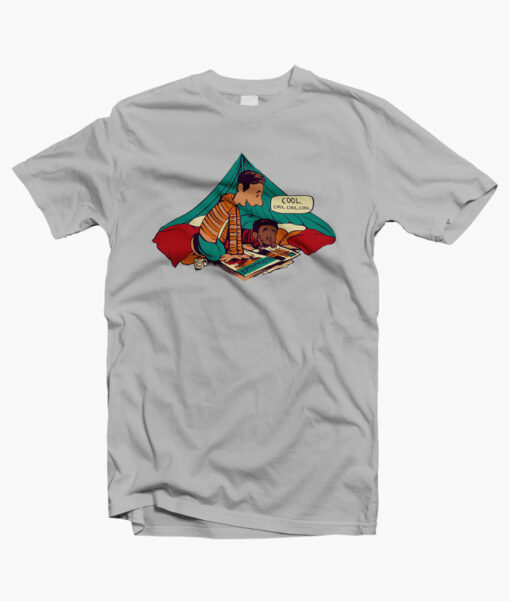 Troy And Abed T Shirts grey