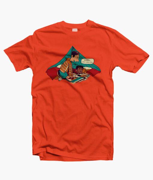 Troy And Abed T Shirts orange