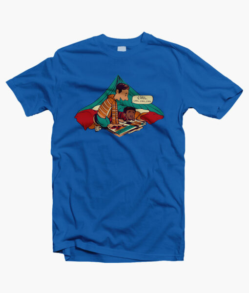 Troy And Abed T Shirts royal blue