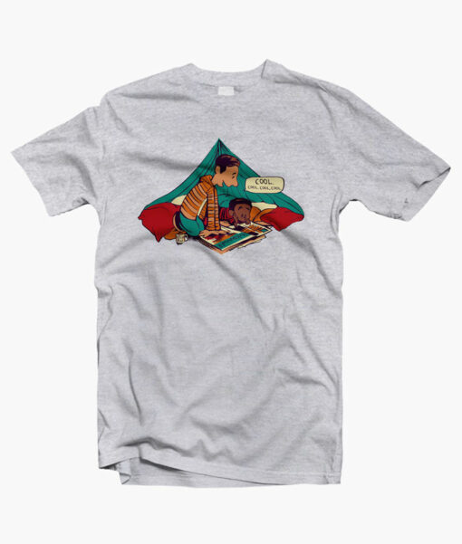 Troy And Abed T Shirts sport grey
