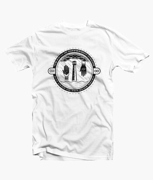 Will The Circle Be Unbroken Shirt white