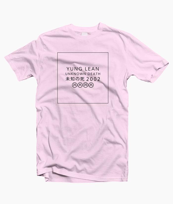 Yung Lean Unknown Death Shirt