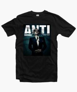 Anti Rihanna Tour T Shirt black