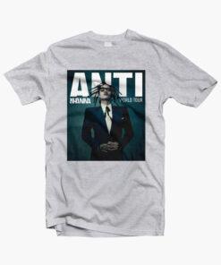 Anti Rihanna Tour T Shirt sport grey