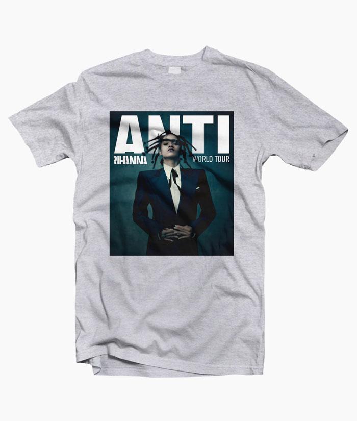 Rihanna Anti World Tour T Shirt