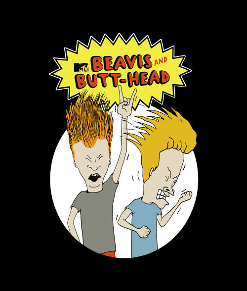 afc78f374379 Beavis And Butthead T Shirt MTV Size XS,S,M,L,XL,2XL,3XL