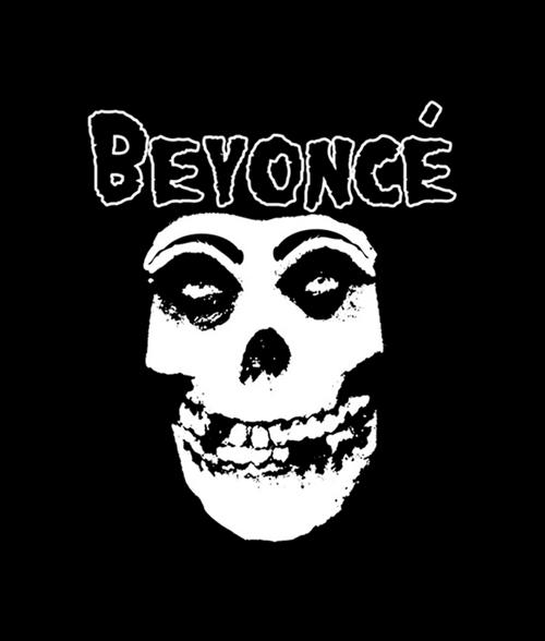 Beyonce Misfits T Shirt