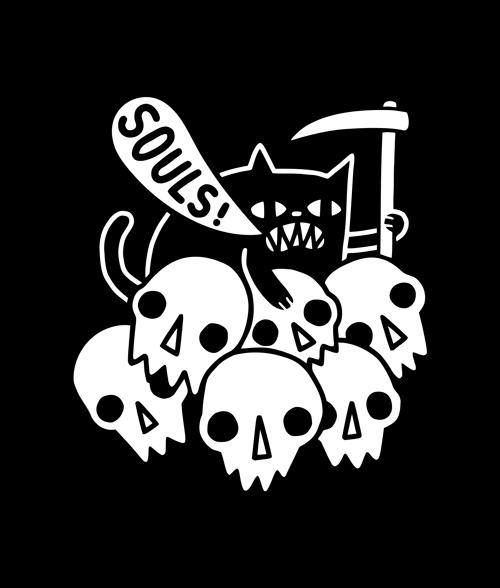 Cat Skeleton Shirt