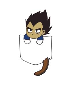 Chibi Vegeta pocket T Shirt