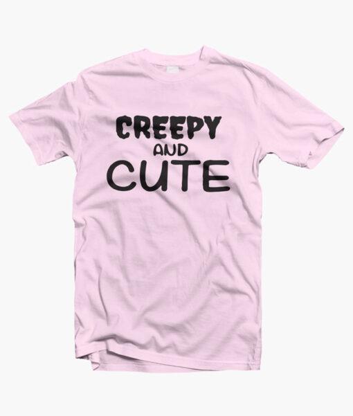 Creepy And Cute T Shirt pink