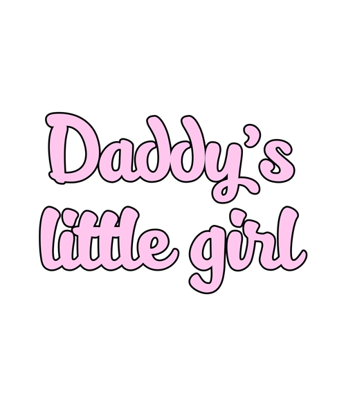 Daddy's Little Girl T Shirt