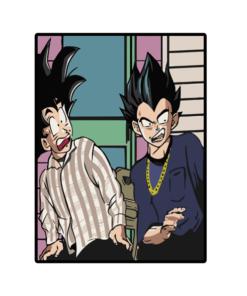 Goku And Vegeta Sweatshirt