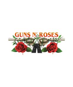Guns N Roses Logo Band T Shirt