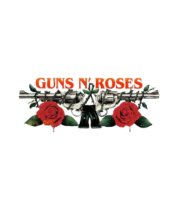 Guns N Roses Logo Band T Shirt