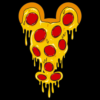Mickey Pizza T Shirt