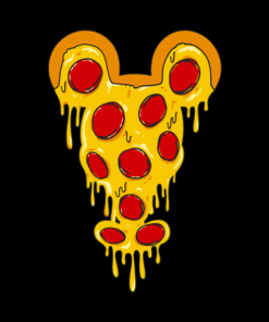 Mickey Pizza T Shirt