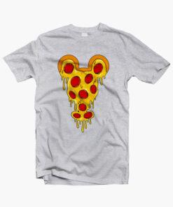 Mickey Pizza T Shirt sport grey