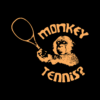 Monkey Tennis T Shirt