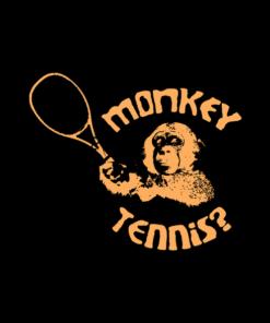 Monkey Tennis T Shirt