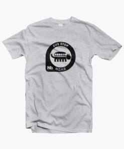 Neko Bus Stop T Shirt sport grey