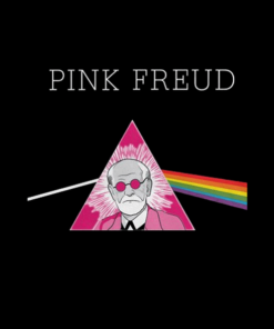 Pink Freud Sweatshirt