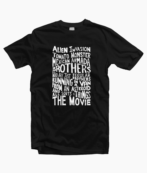 Rick And Morty Two Brothers Hand Lettered T Shirt