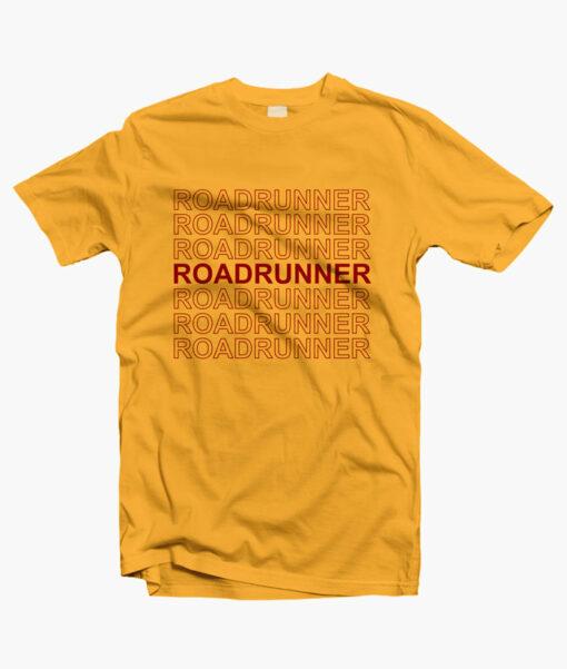 Road Runner T Shirt gold yellow