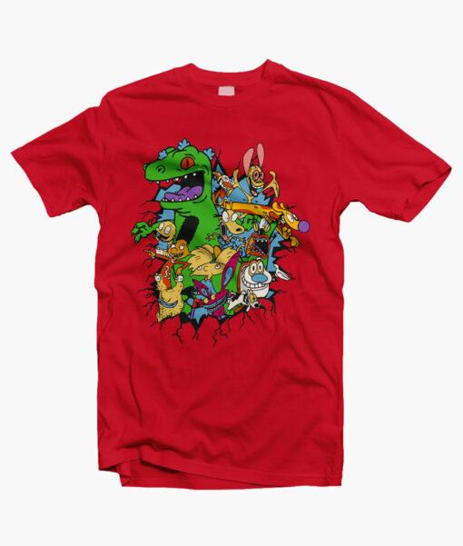 Rugrats Reptar Shirt red