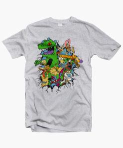 Rugrats Reptar Shirt sport grey