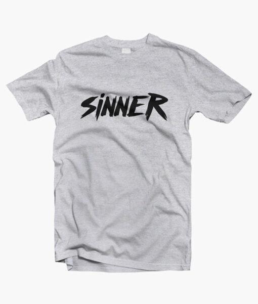 Sinner T Shirt sport grey
