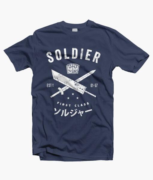 Soldier T Shirt navy blue