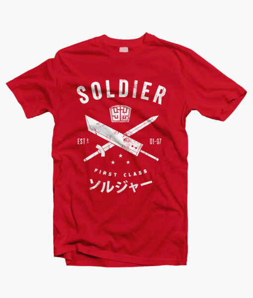 Soldier T Shirt red