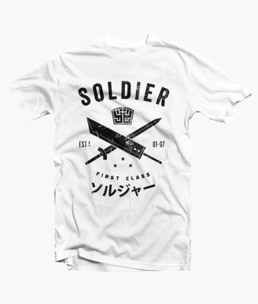 Soldier T Shirt white