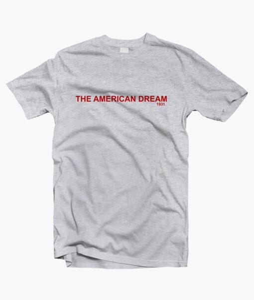 The American Dream T Shirt sport grey