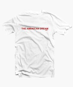 The American Dream T Shirt white
