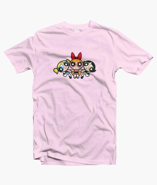 The Powerpuff Girls Action T Shirt
