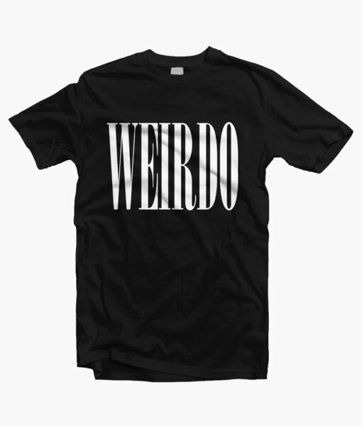 Weirdo T Shirt black
