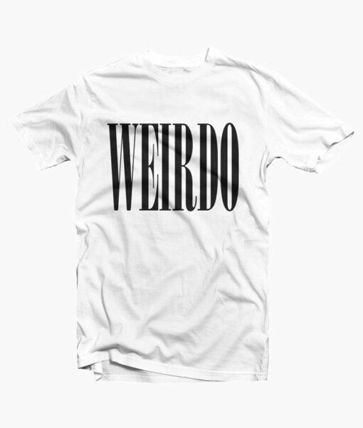 Weirdo T Shirt white