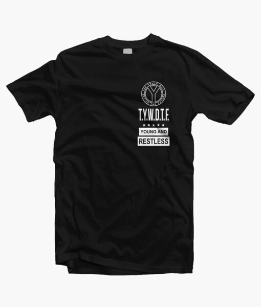 Young And Restless TYWDTF T Shirt black