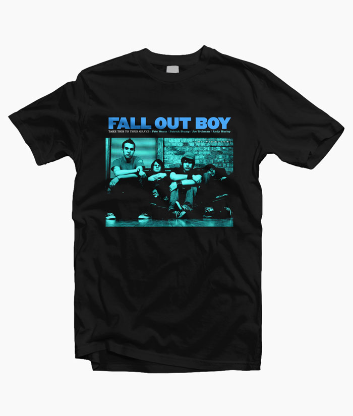 Fall Out Boy Take This To Your Grave T Shirt S-M-L-XL-2XL-3XL