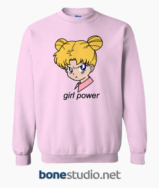 Girl Power Sailormoon Sweatshirt
