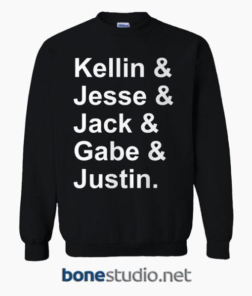 Kellin & Jesse & Jack & Gabe & Justin Sweatshirt