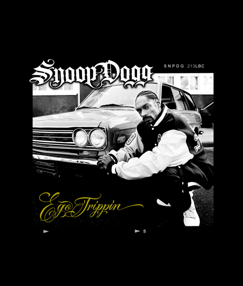 White Snoop Dogg T Shirt
